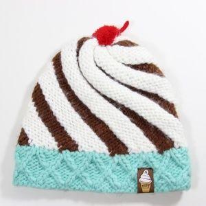 Neff Ice Cream Swirl knit beanie mint chocolate